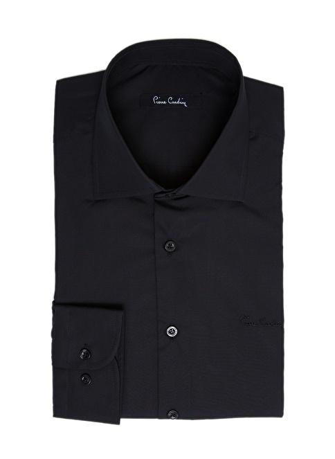 Pierre Cardin Klasik Gömlek Siyah